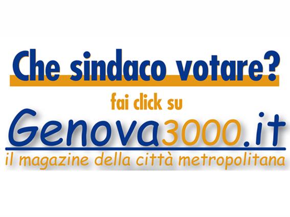 Pubblicita' elettorale su Genova3000
