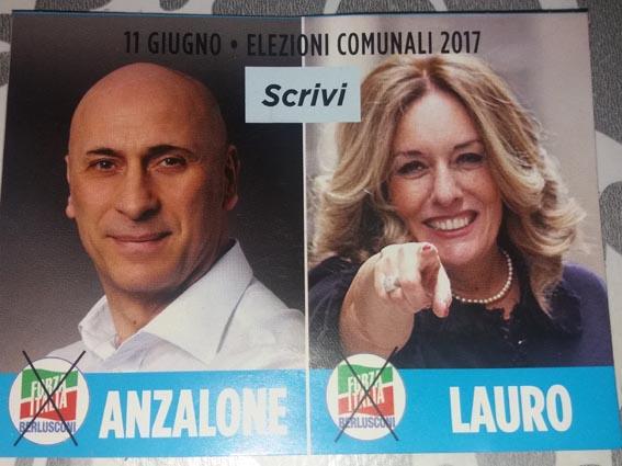 Lauro in tandem con Anzalone e Piccini