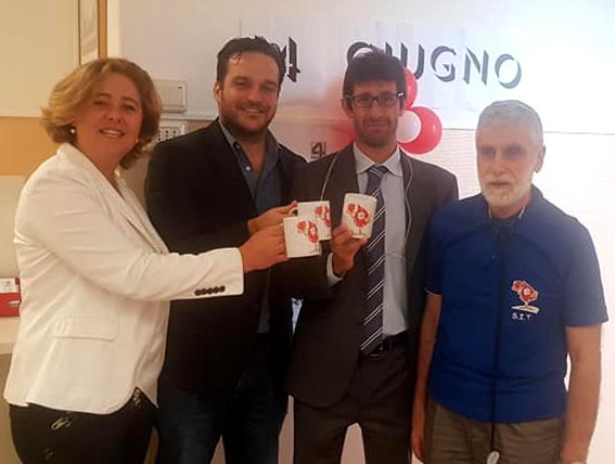 Viscogliosi, Gambino e Bertorello donano il sangue