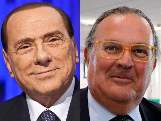 I complimenti di Berlusconi a Cassinelli