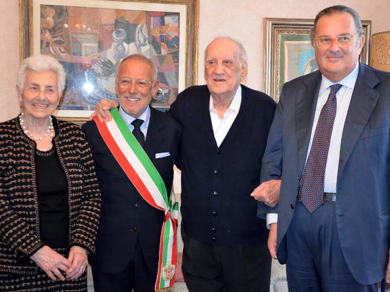 A Biondi il Grifo del Comune di Genova