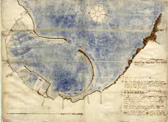 Il blueprint di bartolomeo bianco del 1622 for Produttore di blueprint piano piano