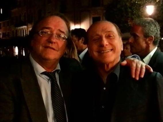 La misteriosa visita di Borneto a Berlusconi