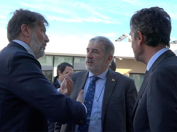 L'incontro Bucci-Biasotti-Esselunga