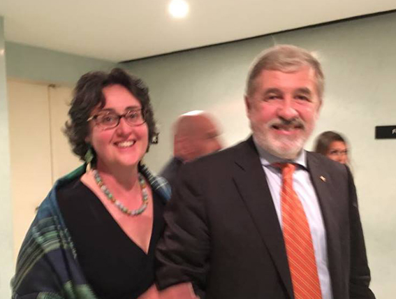 Auguri al sindaco Bucci