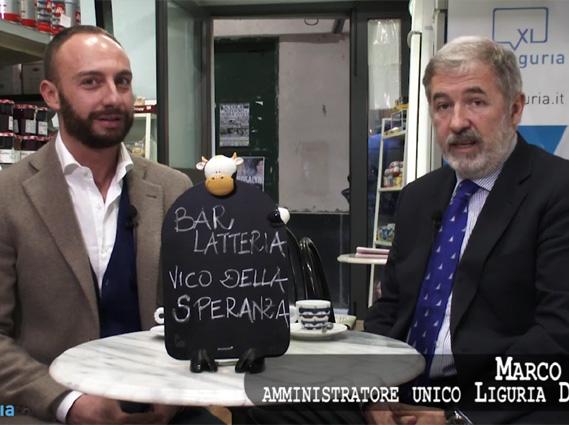 Marco Bucci a Pausa caffe'