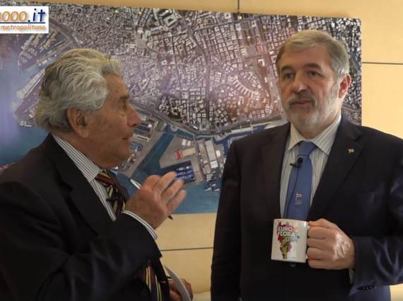 Il sindaco Bucci presenta Euroflora