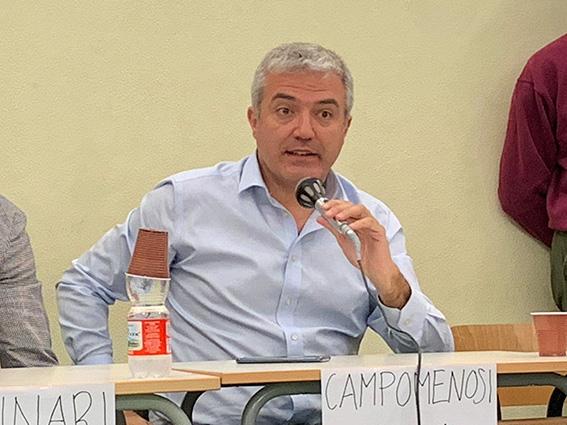 Marco Campomenosi al Liceo Colombo