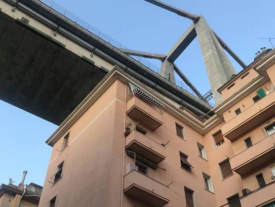 Gli indennizzi per le case sotto il ponte