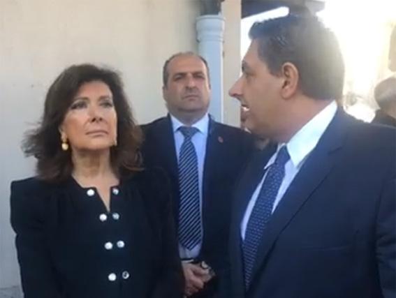 La presidente del Senato a Genova