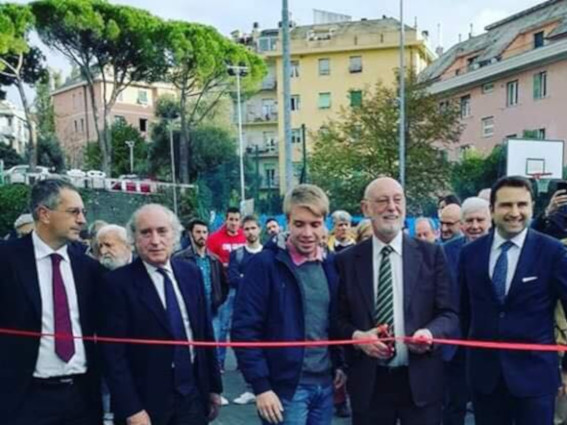 Nuovi impianti per il Cus Genova