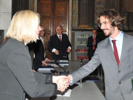 La Fondazione Erede premia Corrado Fizzarotti