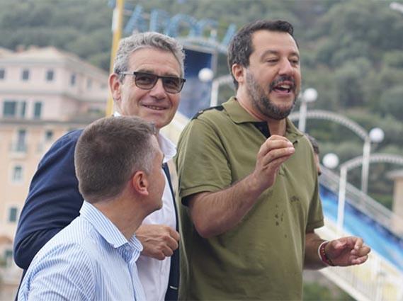 I complimenti di Salvini a Gandolfo