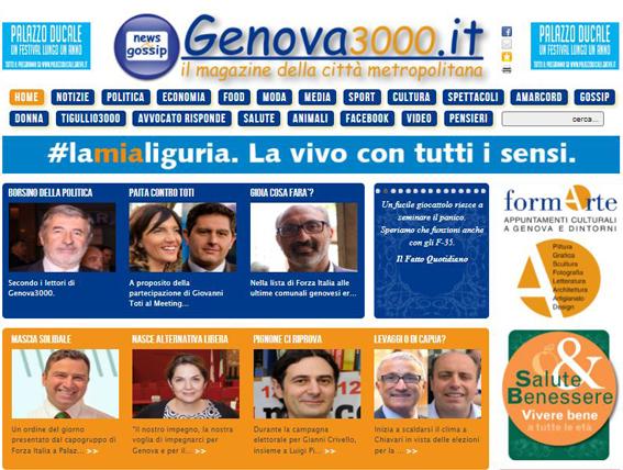La novita' di Genova3000