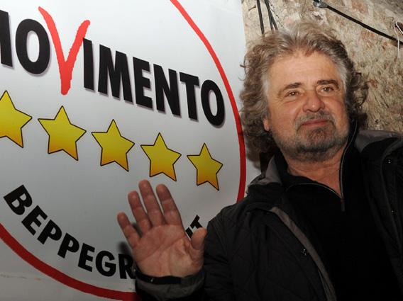 L'addio di Beppe Grillo