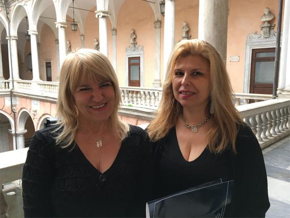 Le belle dame della comunicazione di Palazzo Tursi