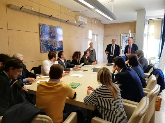 Bucci incontra osservatori Salute e Viabilita'
