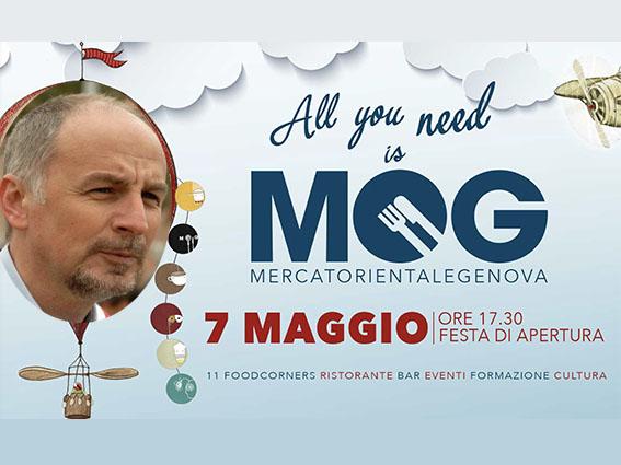 La (Emanuele) Piazza del gusto al MOG