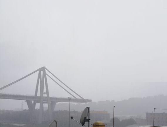 Genova si e' fermata per un minuto