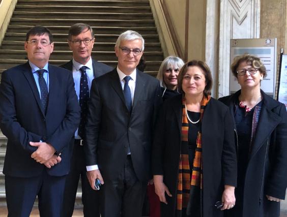 Il Prefetto incontra delegazione Senato francese