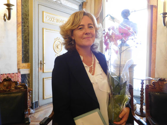 Auguri all'assessore Viscogliosi