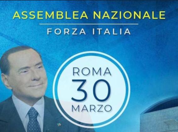 Berlusconi convoca assemblea nazionale di FI