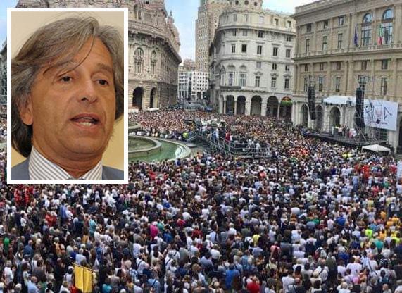 Genova commossa, Genova commovente