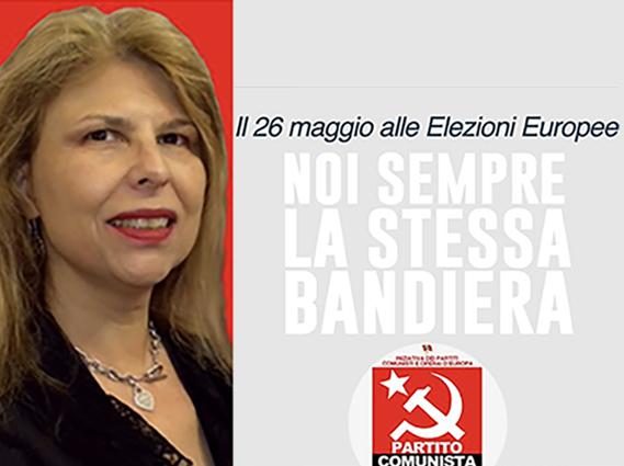 Silvia Stefani candidata alle europee per il PC