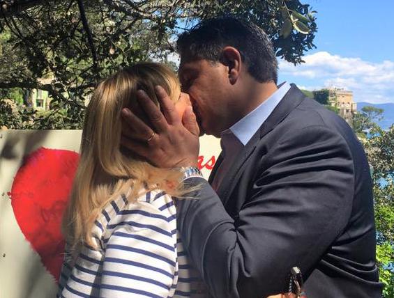 Siria e Giovanni riapriranno la Passeggiata dei baci